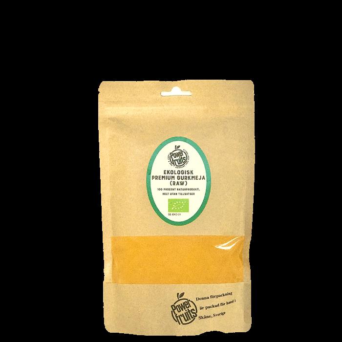 Ekologisk Gurkmeja Premium RAW, 250 g