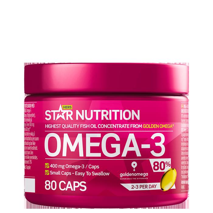 Clean Omega-3 Hers, 80 caps
