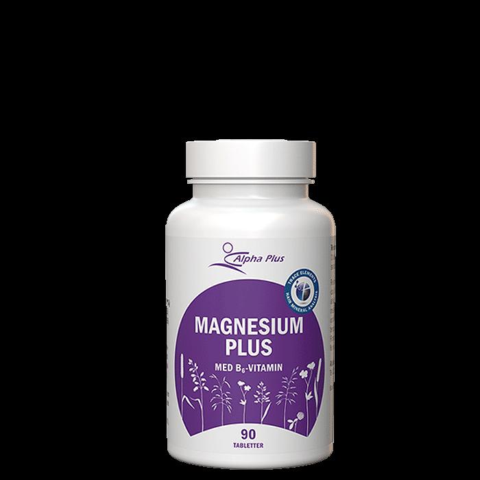 Magnesium Plus, 90 tabletter