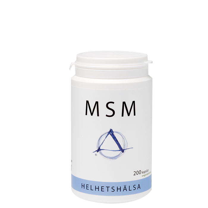 MSM, 520 mg, 200 kaps