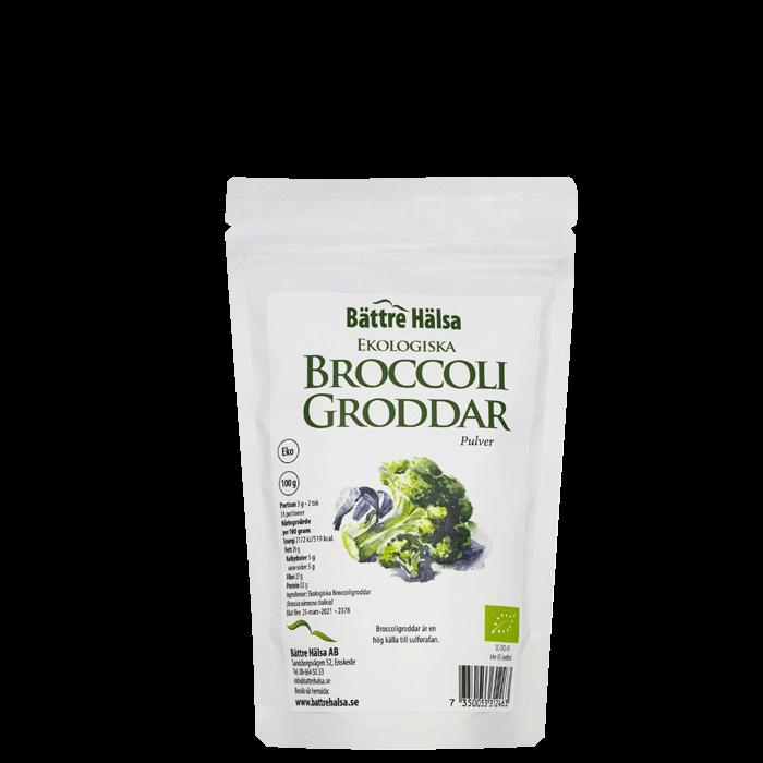 Broccoligroddar, 100 g