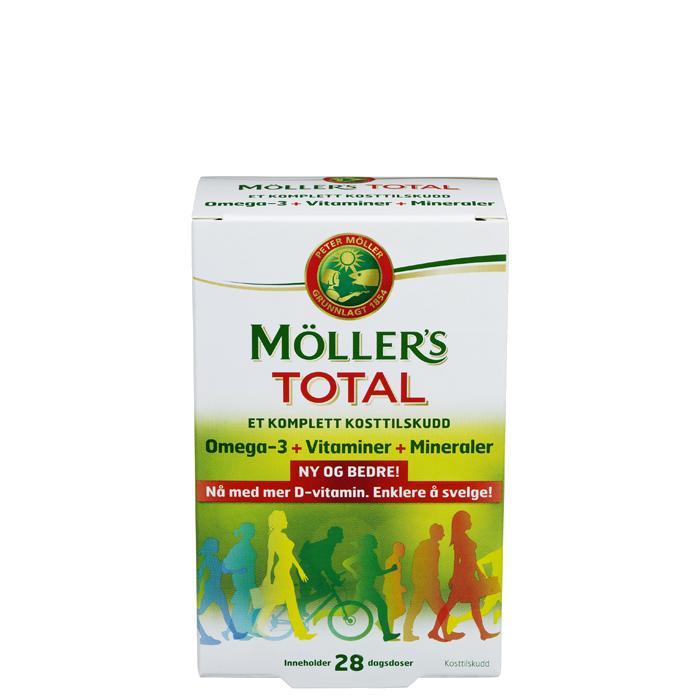 Möllers Total, 56 tabletter