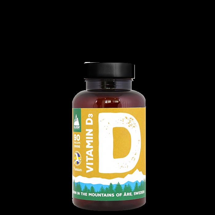KLEEN Vitamin D, 90 Kapslar
