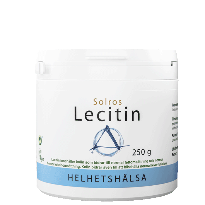 Lecitin, från solros, 250 g