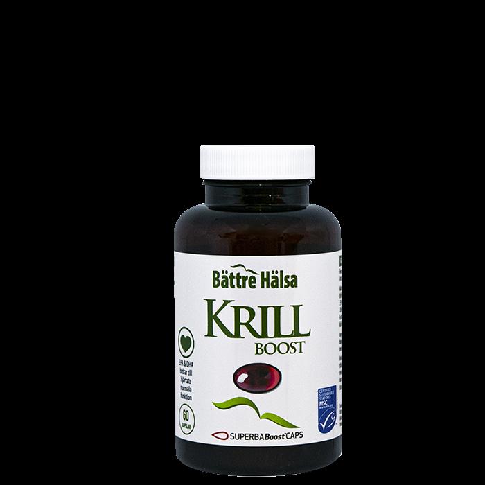 Krill, 60 veg.kapslar