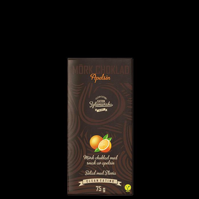 Mörkchoklad Apelsin, 75 g