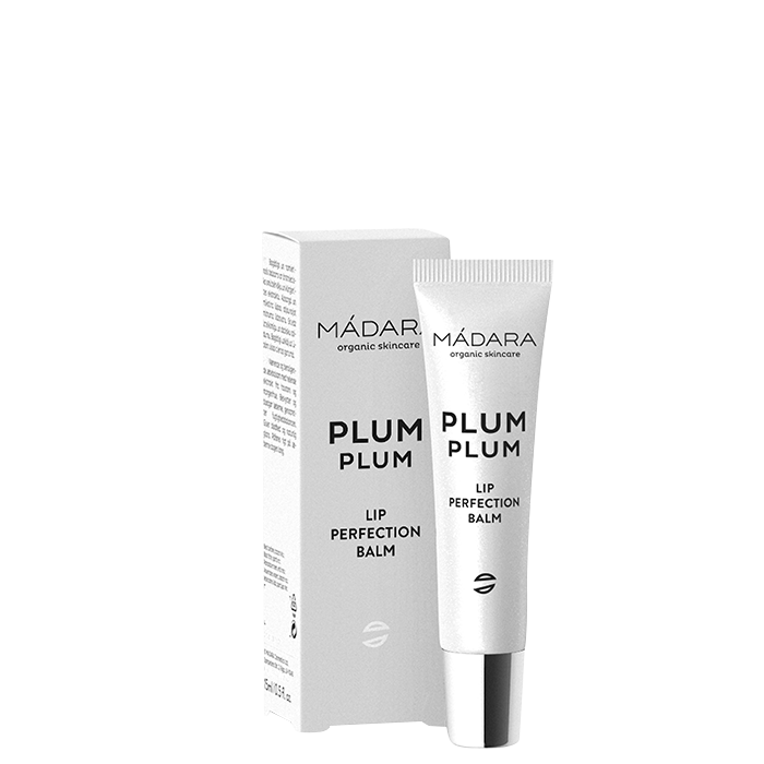 Mádara Plum Plum Lip Balm, 15 ml