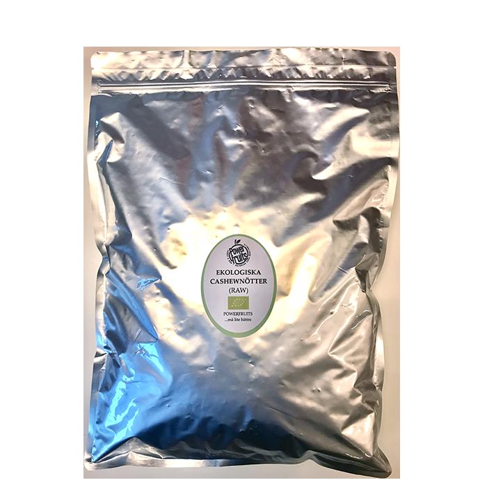 Ekologiska Cashewnötter, 2 kg